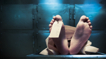 cadavrele încurcate morgă