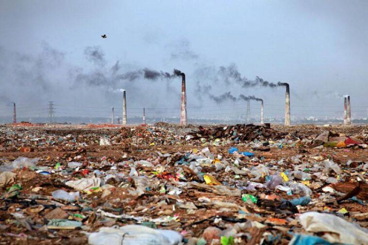 român moare poluării