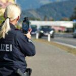 politist austria viteza auto