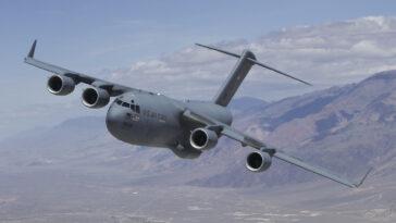 avion-c17-incalcare spatiu aerian austria