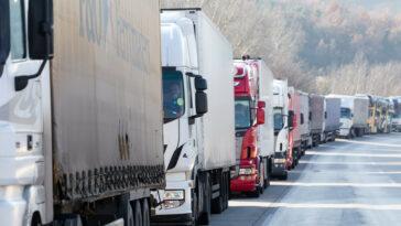 camioane aglomeratie austria