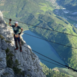 alpinist traseu montan austria