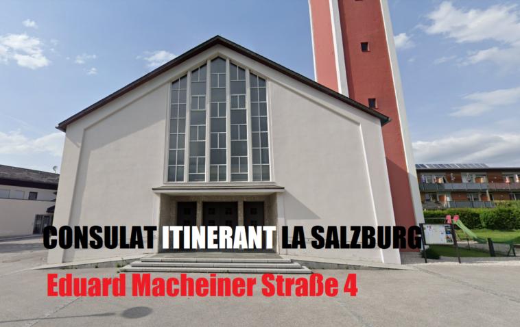 sediu consulat itinerant salzburg