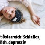 presa austriaca depresie insomnie