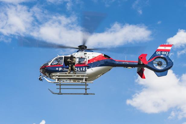 elicopter politie austria