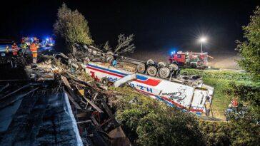 camion rasturnat soferi nevatamati