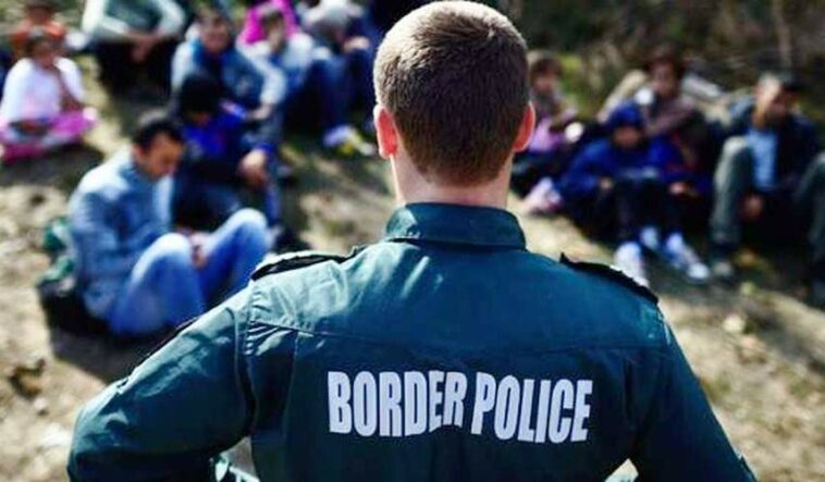 migranti ilegali frontiera
